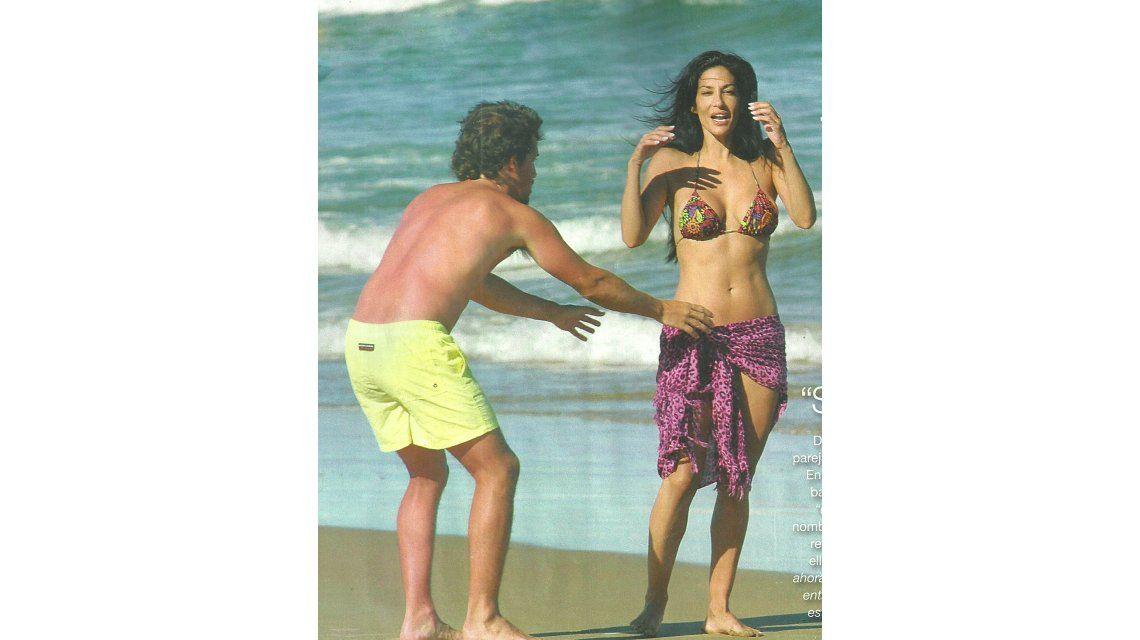 Silvina Escudero ¿con nuevo novio? Mimos en las playas de Punta del Este