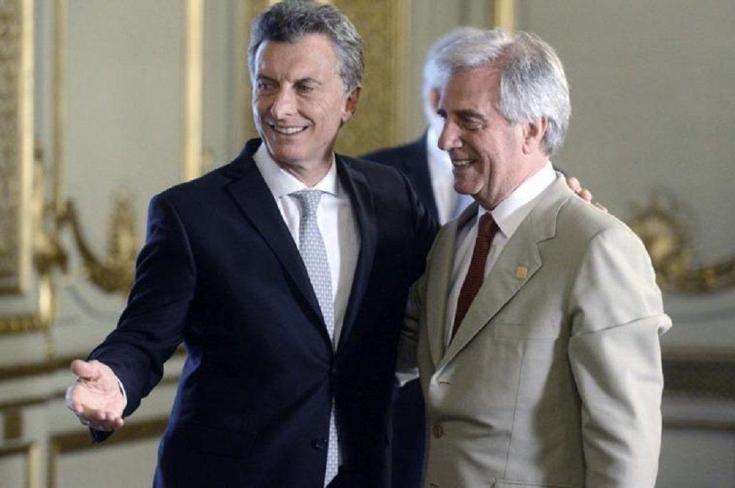 Macri visita a su par uruguayo para afianzar el vínculo bilateral