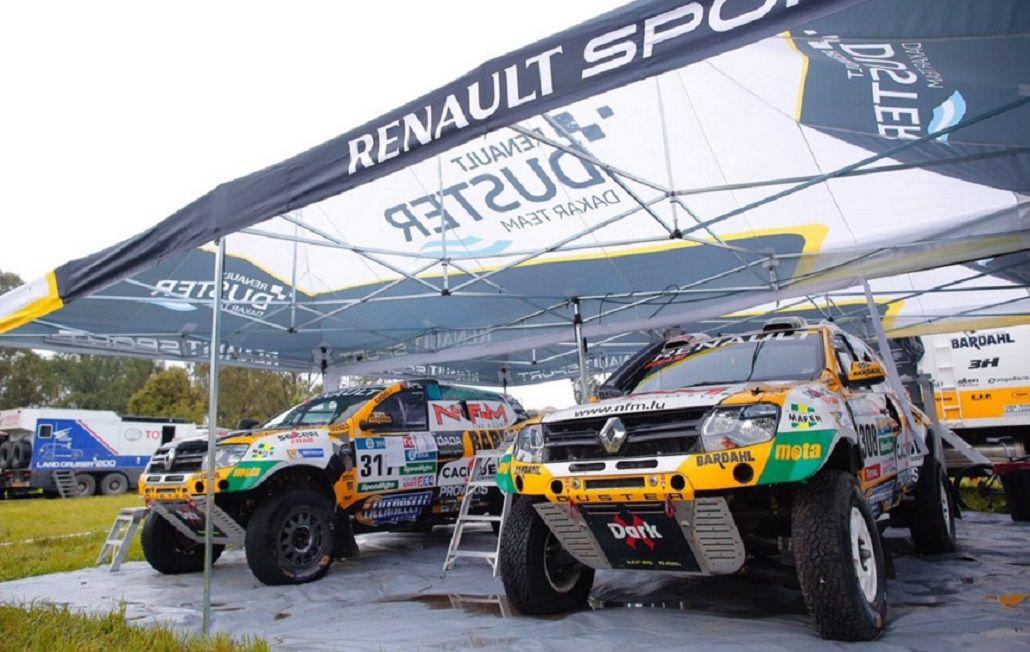 Emiliano Spataro, el mejor argentino del Dakar 2016 en autos
