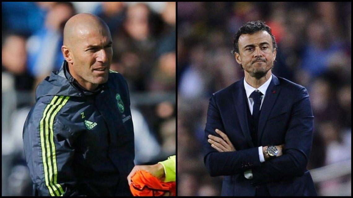 La feroz pelea entre el técnico del Real Madrid y el Barcelona