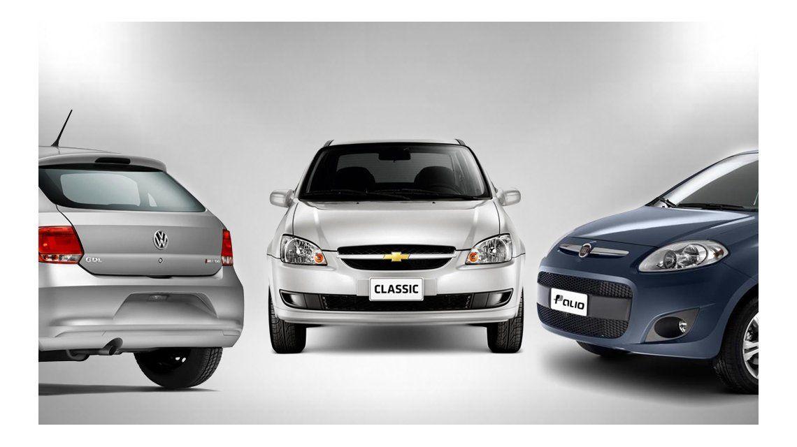 Sólo se consiguen siete modelos de autos a menos de $200 mil