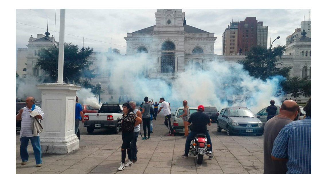 La Plata: Los que hicieron esto van a quedar detenidos, adelantó el intendente Garro