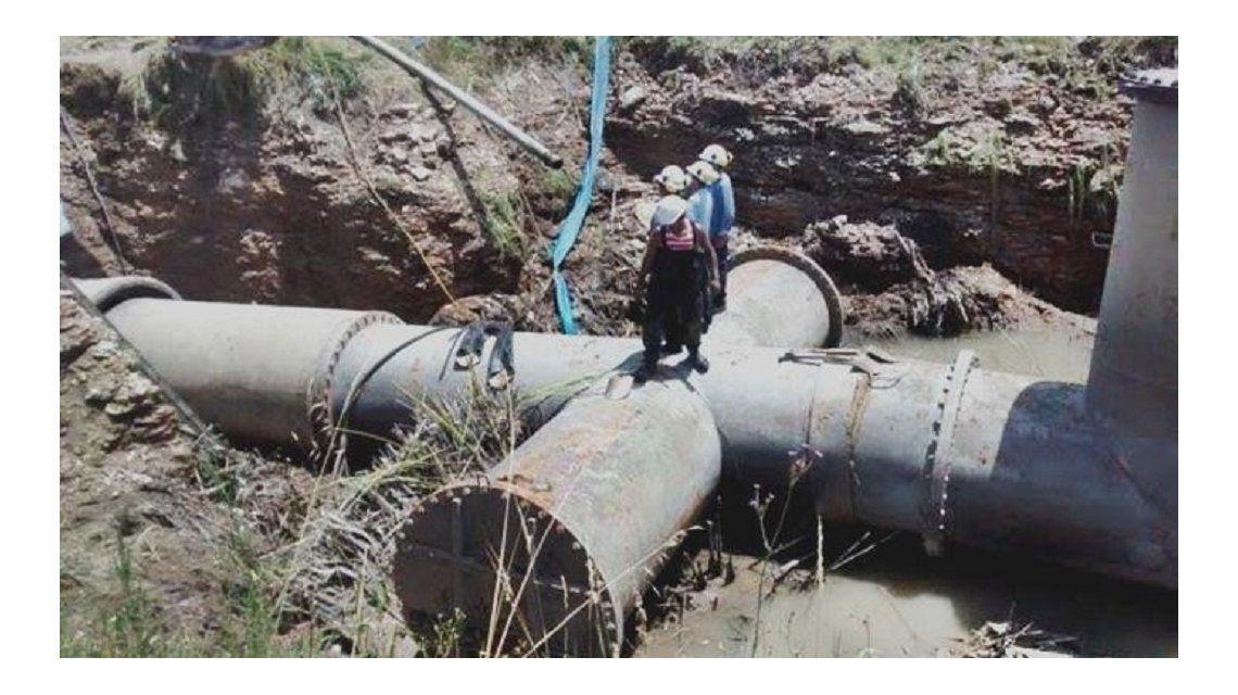 Un caño roto dejó a todo Bahía Blanca sin agua
