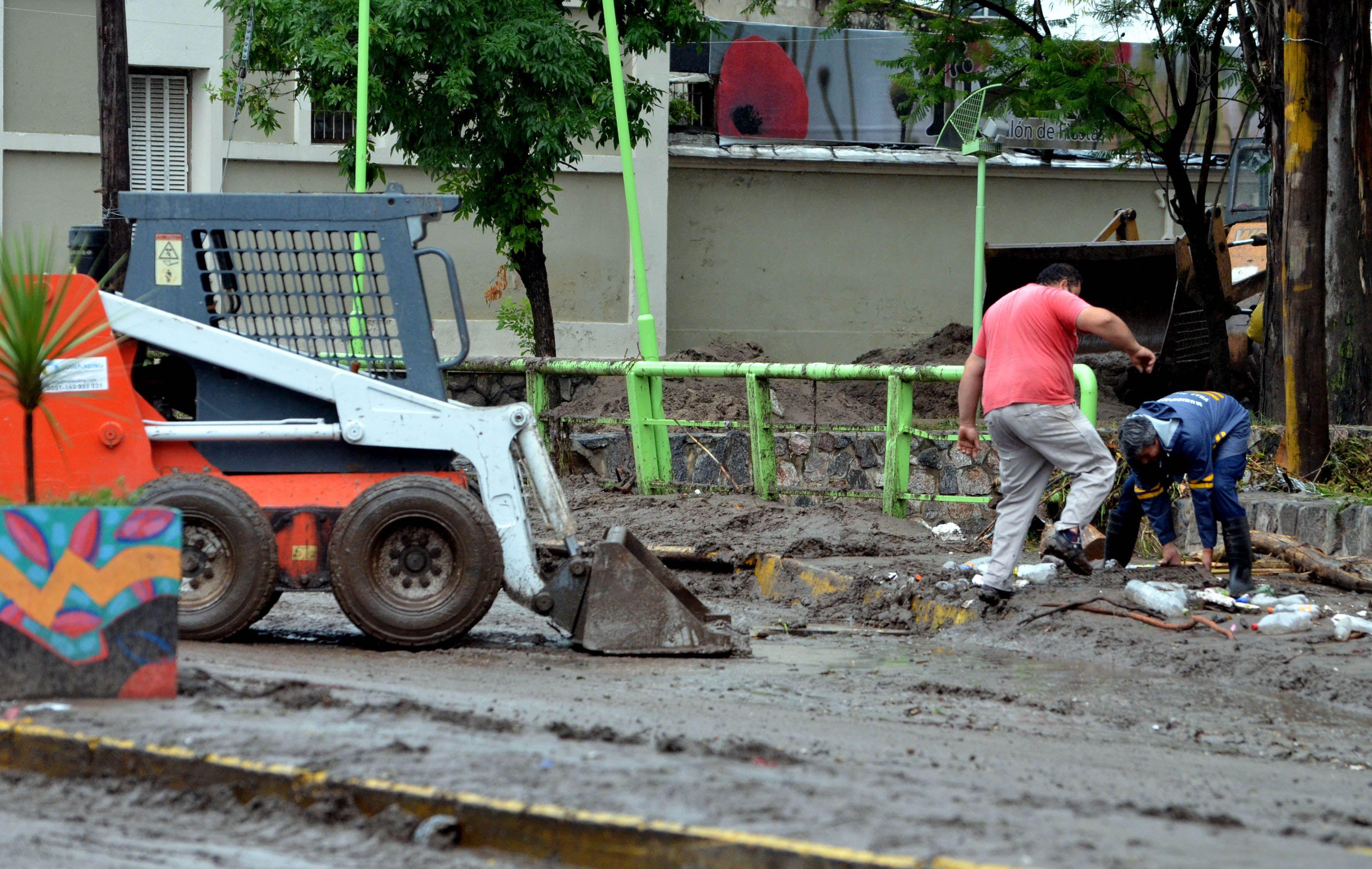 Las imágenes que dejó el temporal en Córdoba