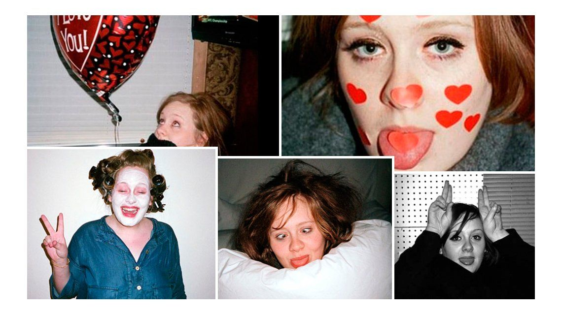Revelan fotos prohibidas de la cantante Adele