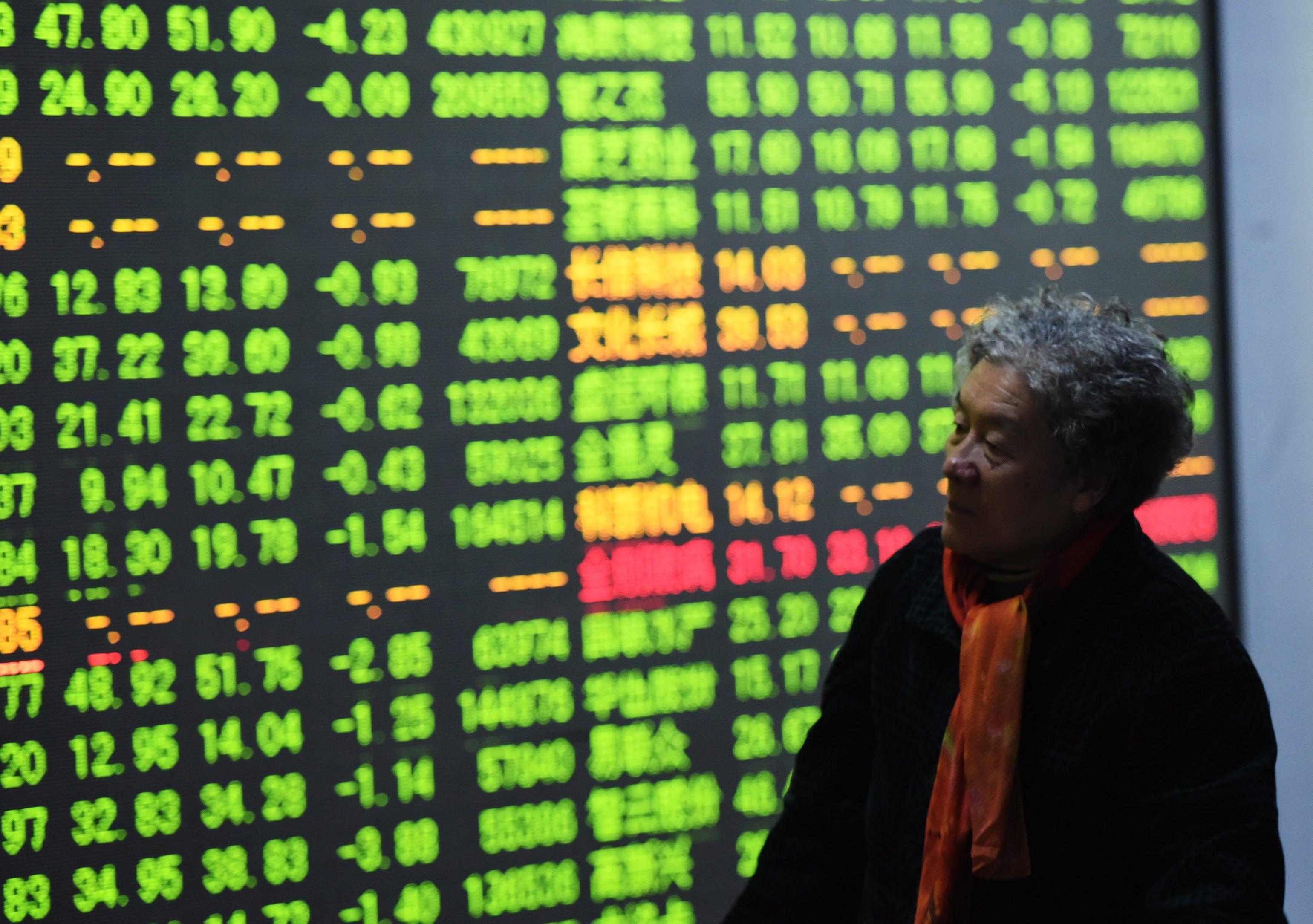 Nuevo cierre anticipado de bolsas chinas por fuertes bajas