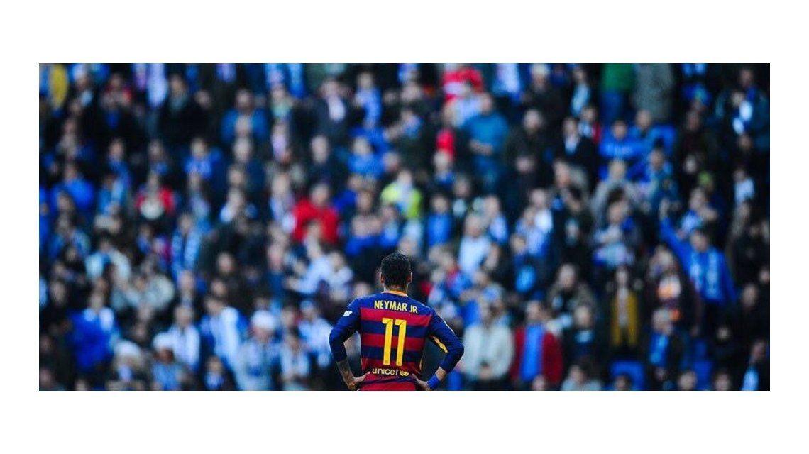 Escándalo en España: mirá el canto racista que sufrió Neymar