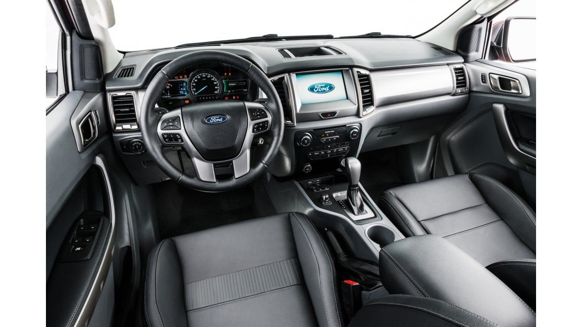 Ford exhibe en Pinamar el interior de la nueva Ranger