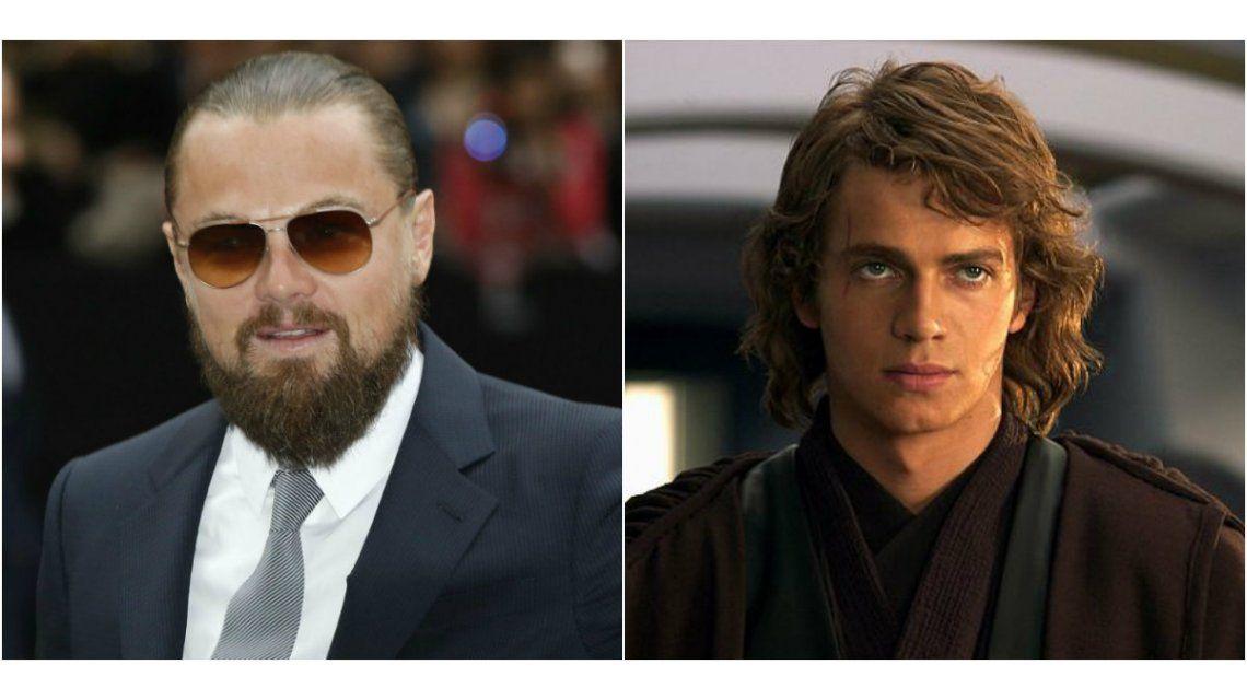 Leonardo DiCaprio fue tentado para ser Anakin Sywalker en Star Wars