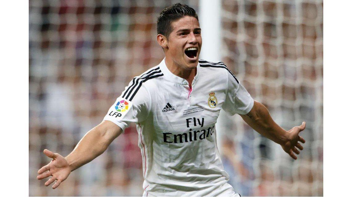 Otro coletazo del Brexit: James Rodríguez podría abandonar el Real Madrid