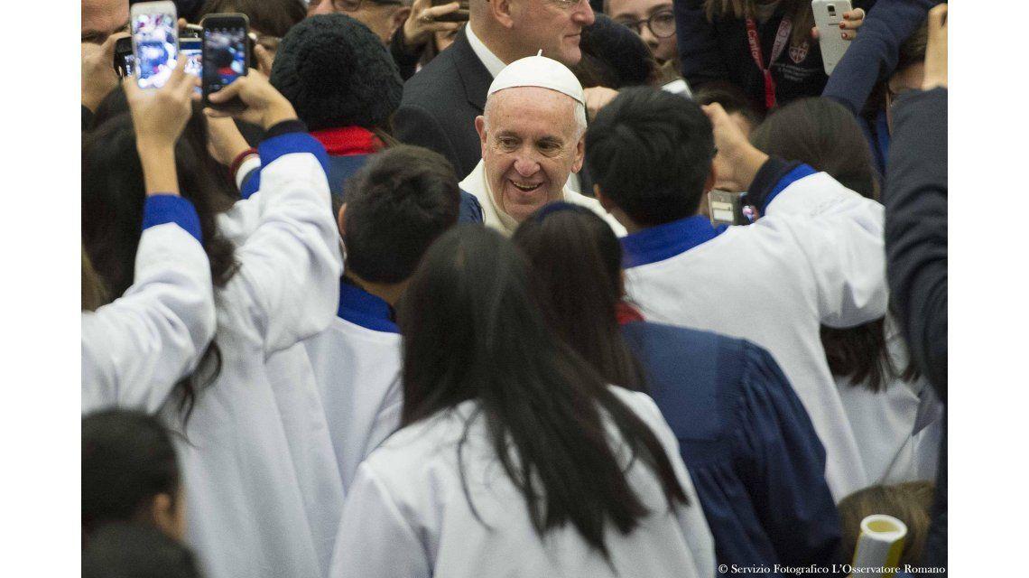 El Papa reveló que de chico decía que quería ser carnicero