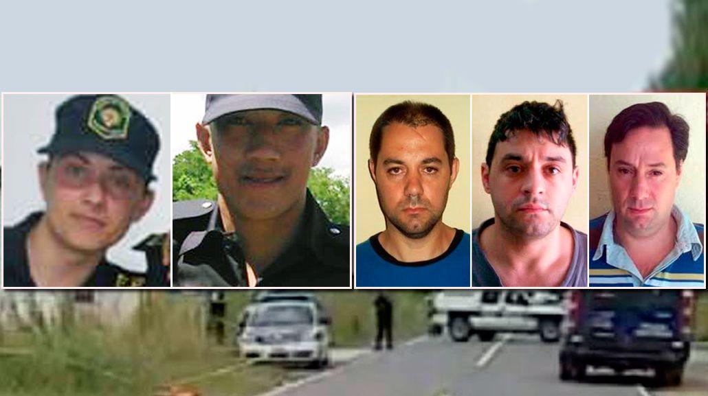 Los Lanatta y Schillaci no van a declarar por los policías heridos en Ranchos