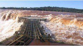 Hay alerta hidrológico en Corrientes por la crecida del río Paraná