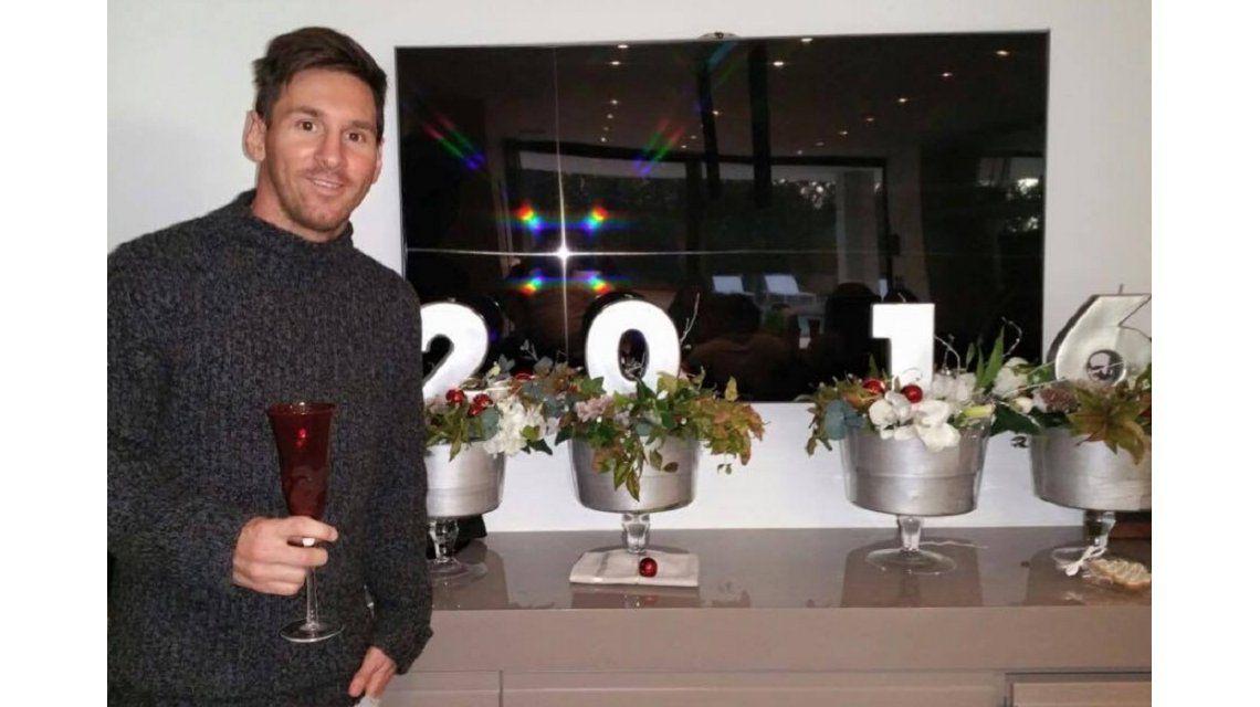El saludo del 10 desde Barcelona: ¡Feliz año nuevo para todos!