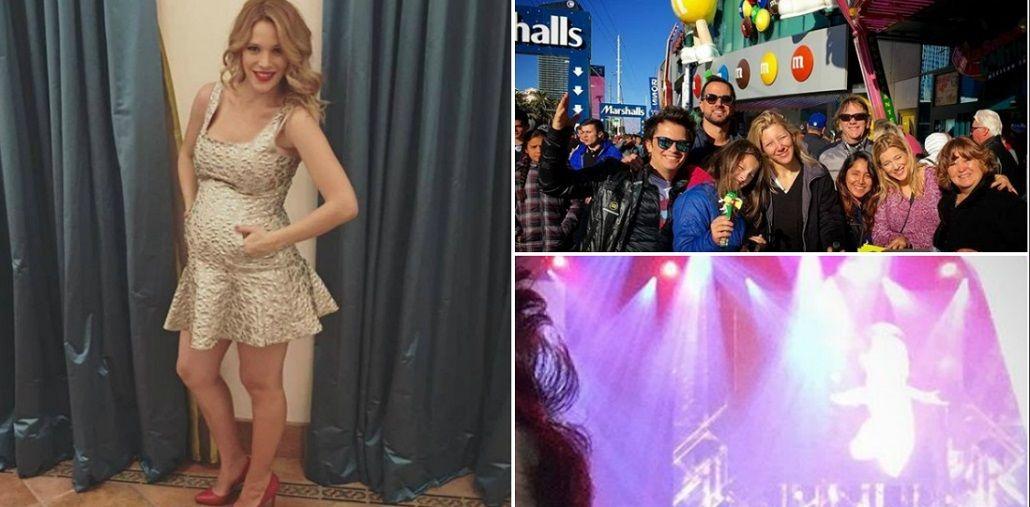 Mirá el divertido festejo de Año Nuevo de los Lopilato y los Bublé en Las Vegas