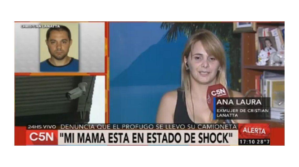 Habló la ex mujer de Cristian Lanatta: Le pido que se entregue