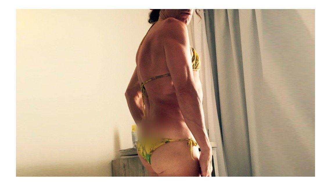 Favio Posca revolucionó las redes con una foto en bikini
