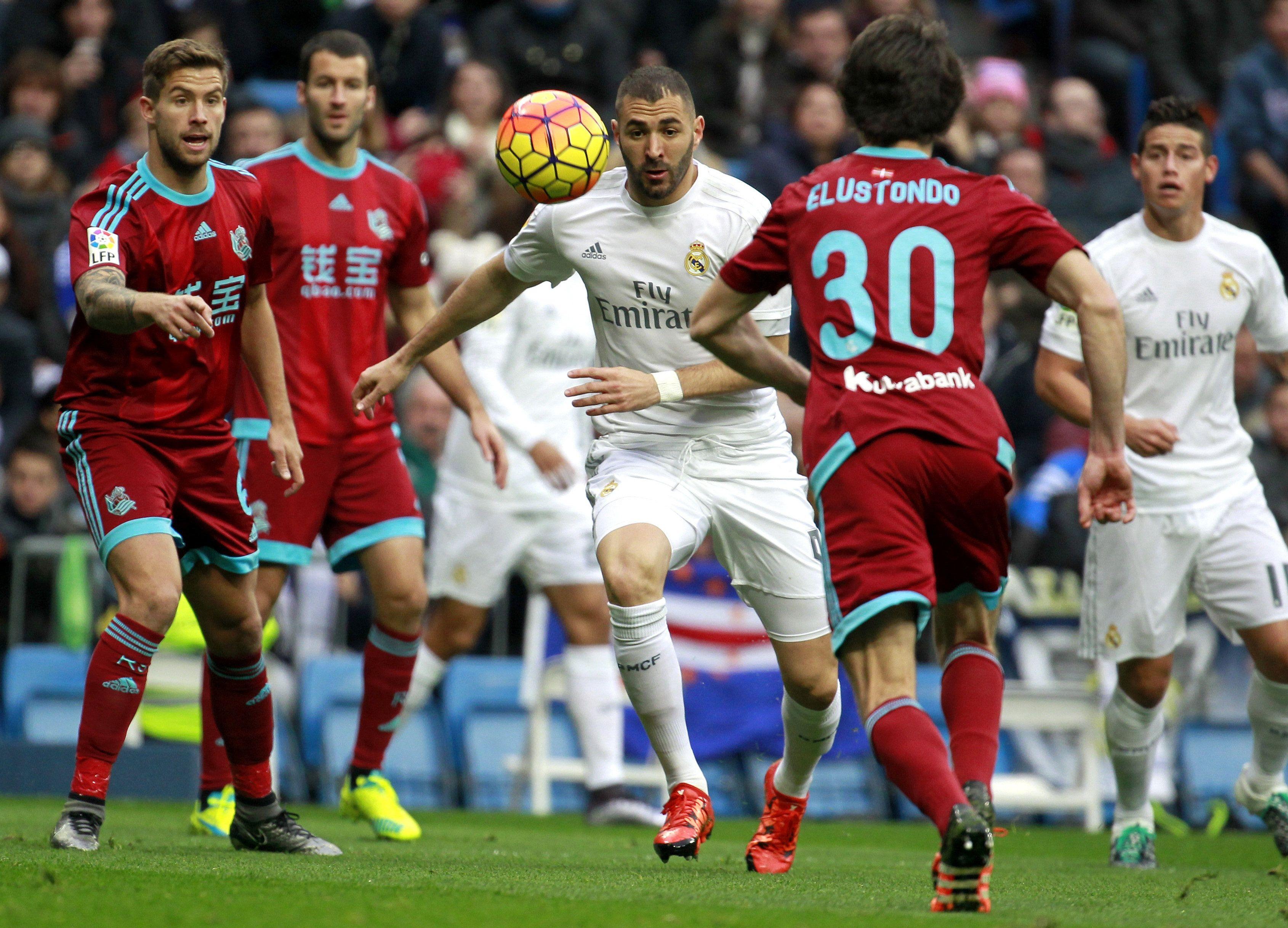 Con sufrimiento, Real Madrid venció a la Real Sociedad