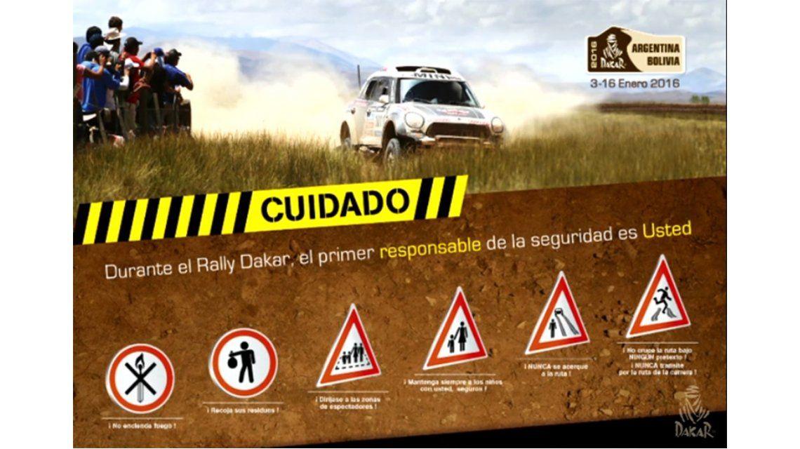 Conocé las reglas de seguridad del Dakar 2016