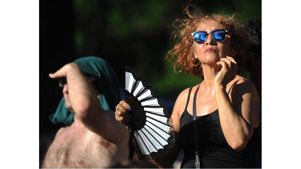 Ola de calor en Buenos Aires