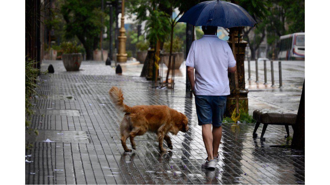 Lunes con probabilidad de precipitaciones en Capital y Gran Buenos Aires