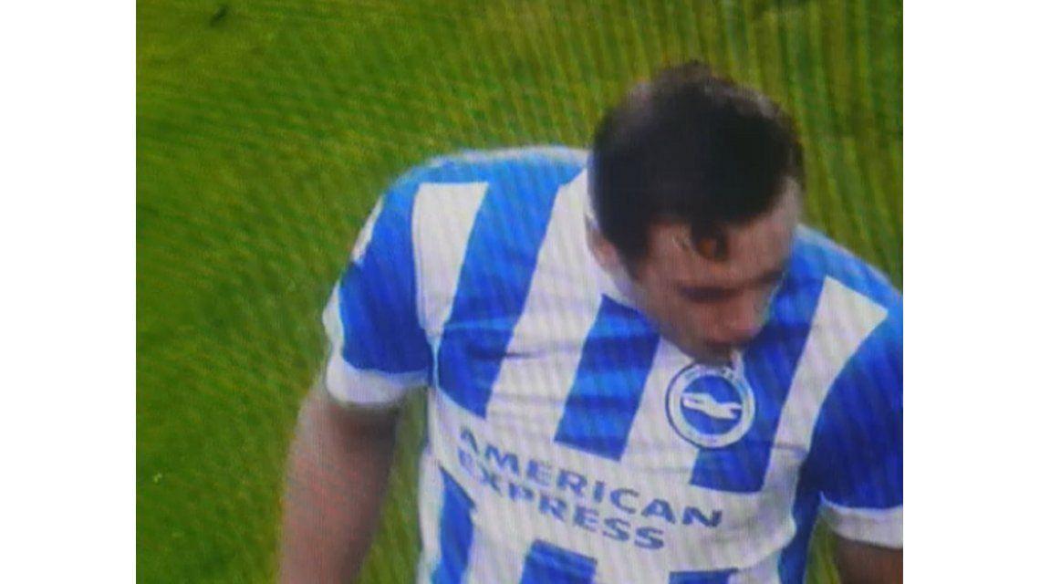 Festejó de más: en el primer día del año, un jugador vomitó en pleno partido