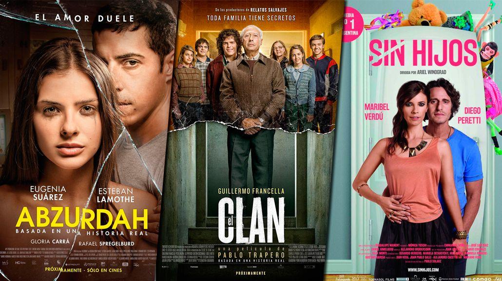 Las películas argentinas más vistas del año