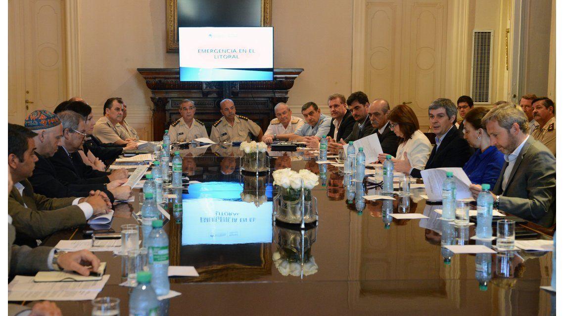Comité de crisis: el Gobierno lanzó el Sistema Federal de Emergencias