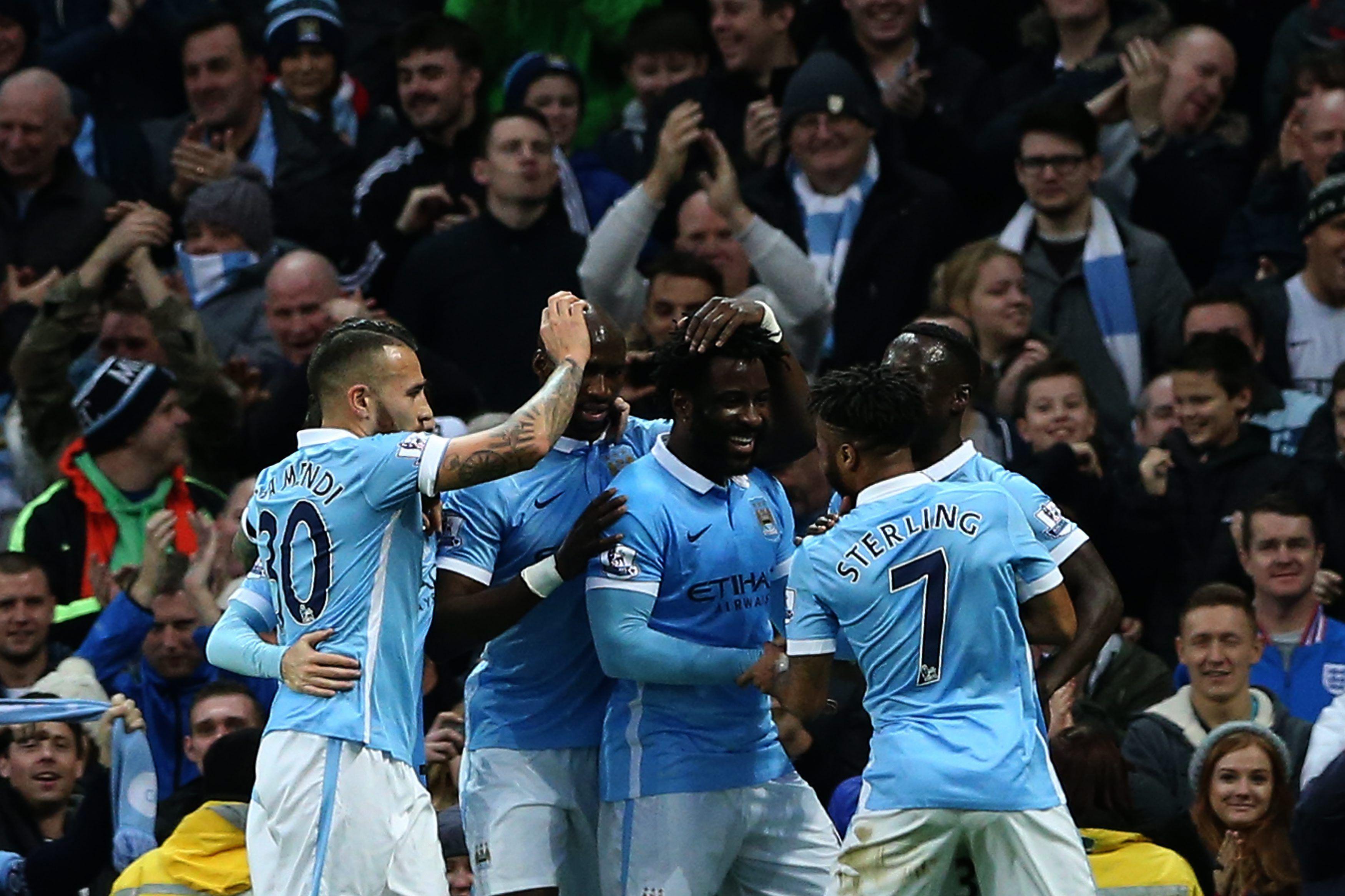 El Manchester City goleó al Sunderland y se acerca a la cima de la Premier