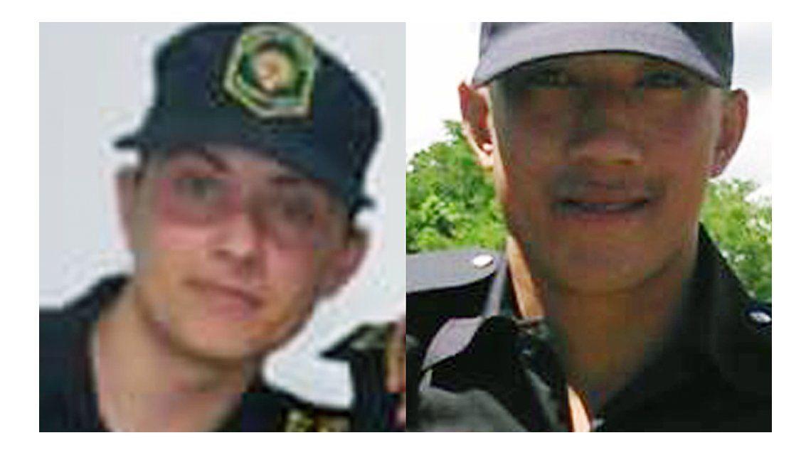 Éstos son los dos policías baleados por los prófugos del triple crimen en Ranchos