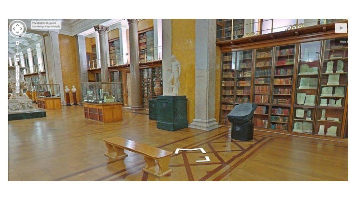 El British Museum ya puede visitarse en internet gracias a Google
