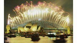 Así se vivió el Año Nuevo en Australia y Nueva Zelanda