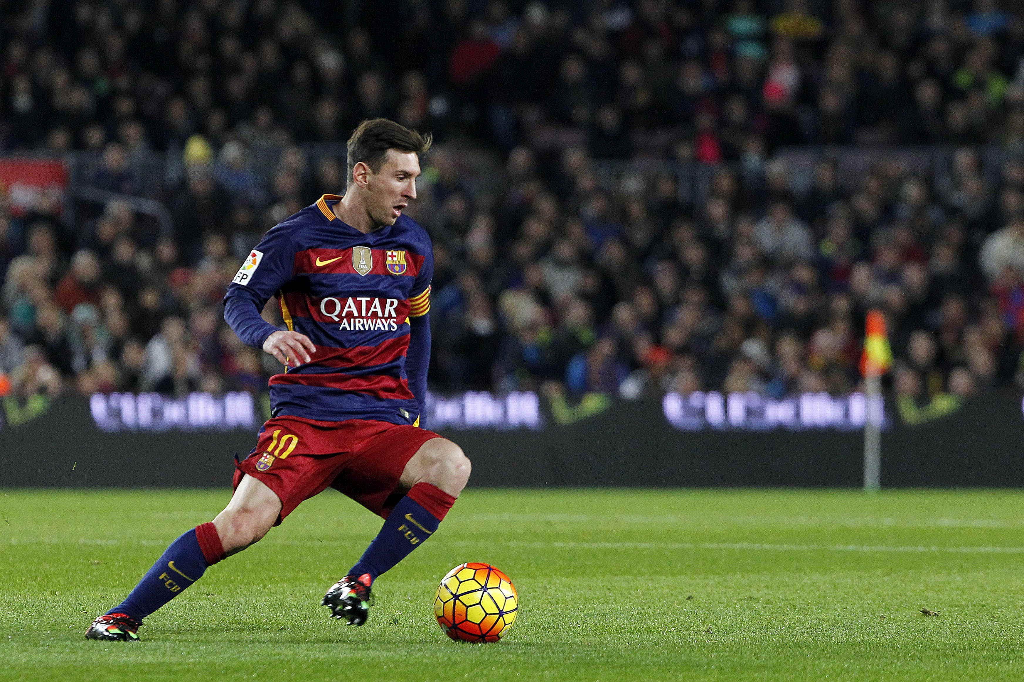 En su partido 500 con el Barcelona, Messi hizo un gol ante el Betis