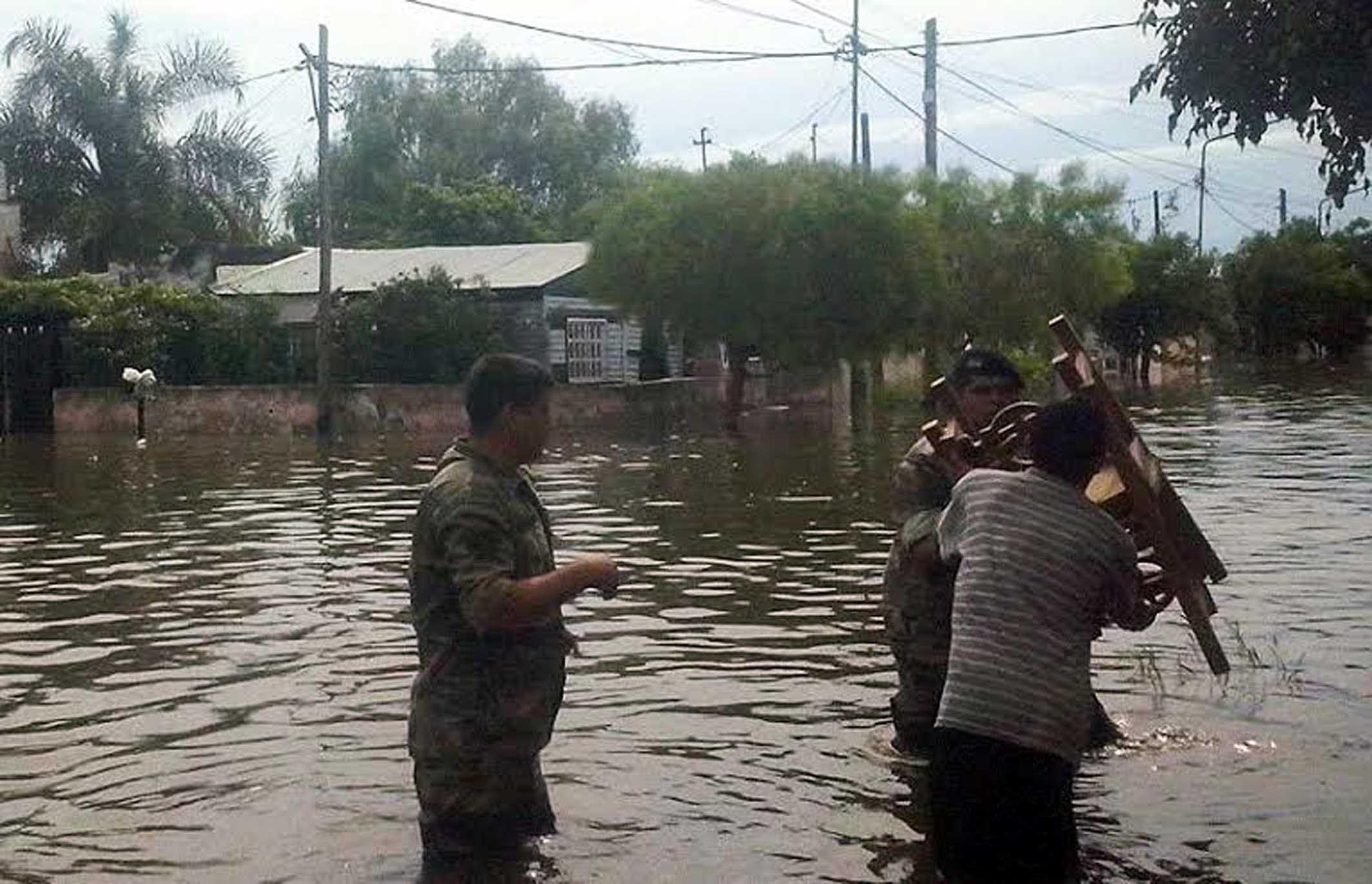 Alivio en Entre Ríos: el río Uruguay comenzó a bajar