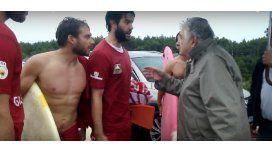 Mujica discutió con bañeros: Son jóvenes