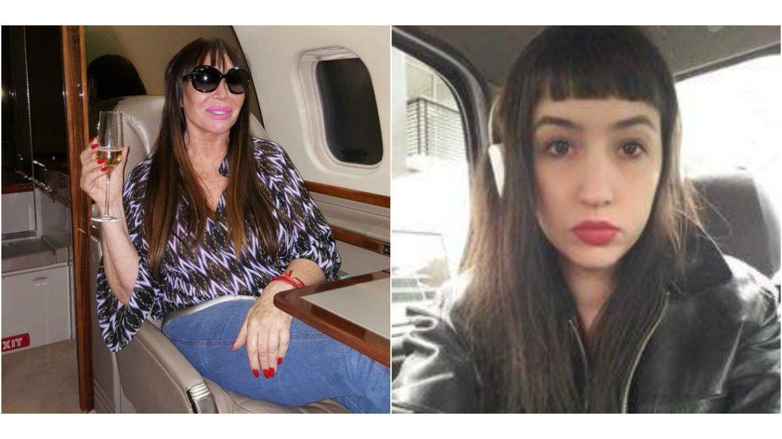 Moria Casán a su hija: Gracias por hacerme conocer el amor