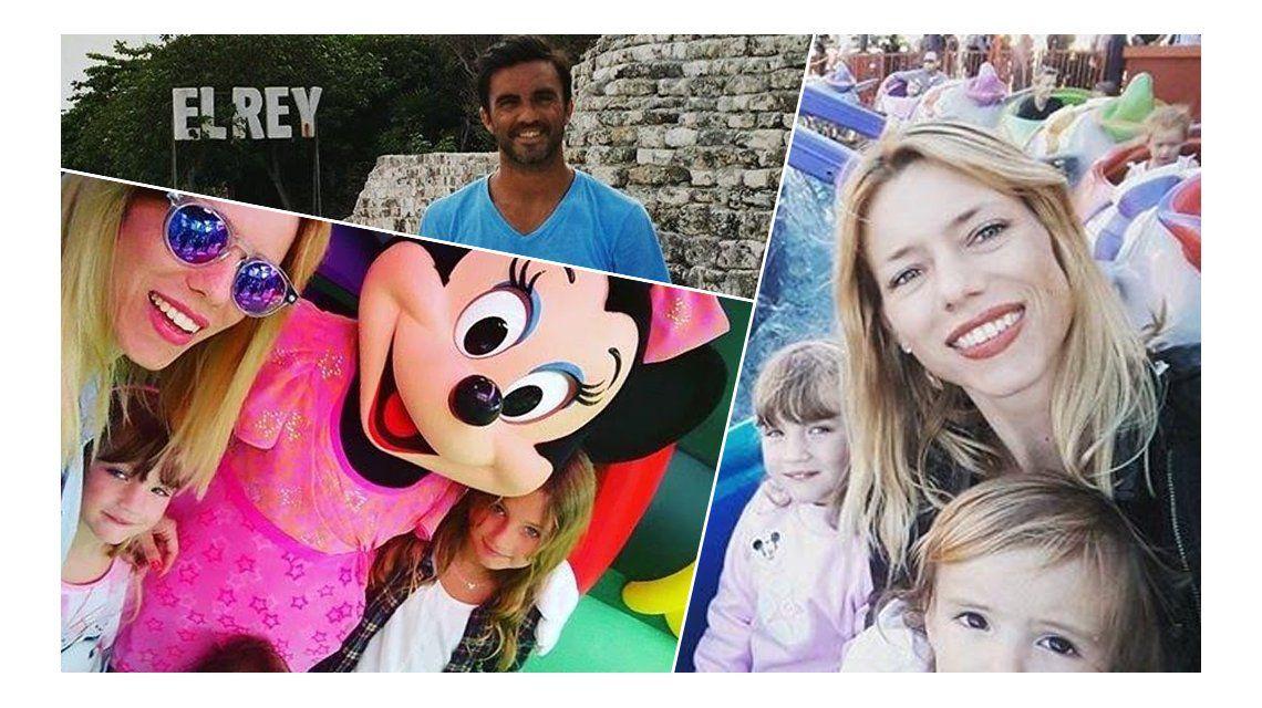 Las divertidas vacaciones de Nicole Neumann en Disney