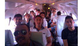 Cumbre futbolera: ¿Qué hacen estos cracks viajando juntos a Brasil?