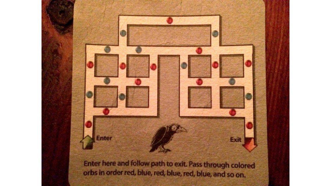 Un acertijo que es viral: ¿podés atravesar el laberinto?
