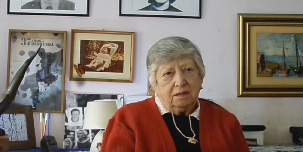 Después de 39 años, apareció Clara Anahí, la nieta de Chicha Mariani
