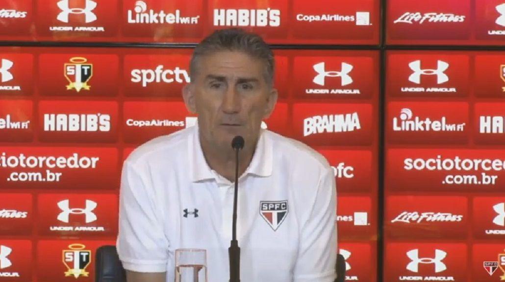 Bauza: A Calleri le propuse que venga a un club tan grande como Boca