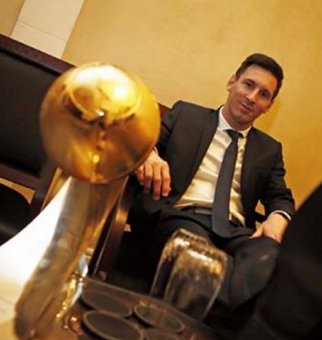 Messi y su felicidad plena tras un nuevo premio: La alegría es completa