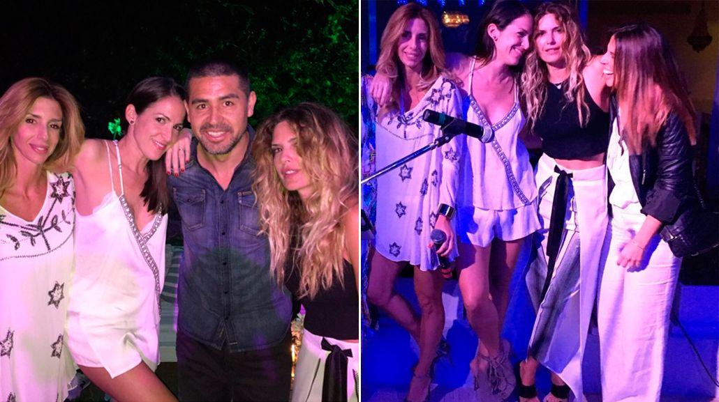La fiesta alocada de Isabel Macedo con Juan Román Riquelme