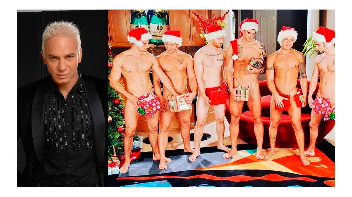 Flavio Mendoza anticipa la Navidad con una foto de hombres desnudos