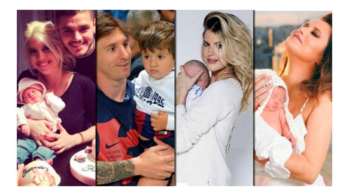 Los famosos que fueron padres en el 2015