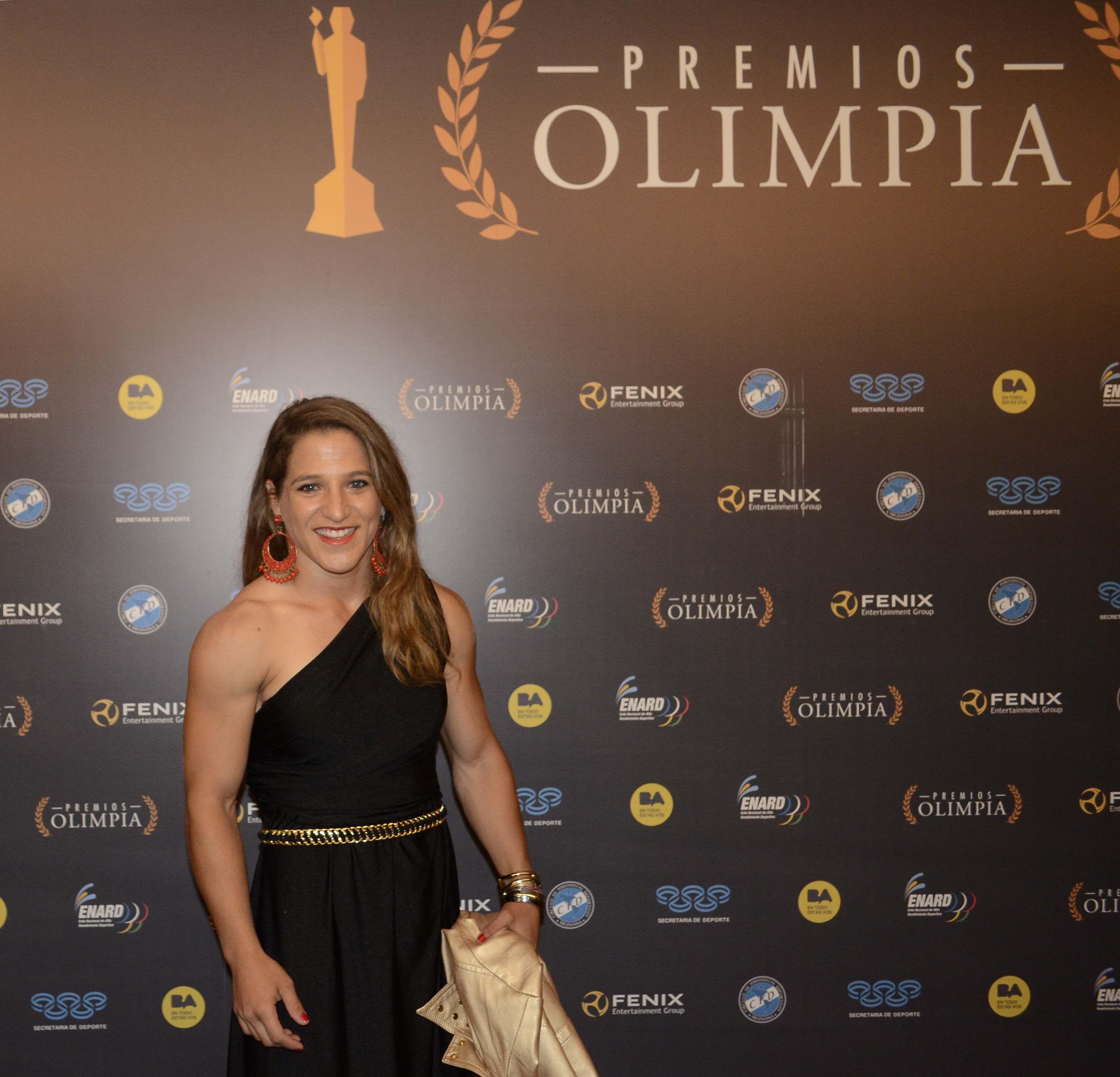 Paula Pareto se quedó con el Olimpia de Oro