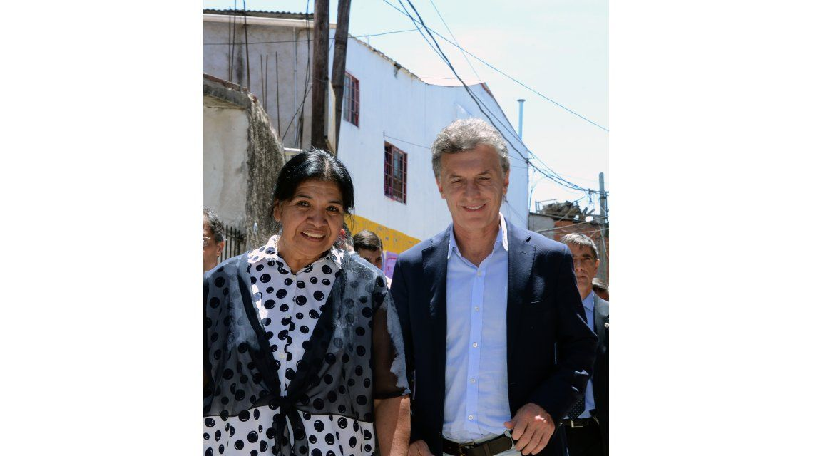 El mensaje de Navidad de Macri en Los Piletones: Mucho amor y tranquilidad para los argentinos