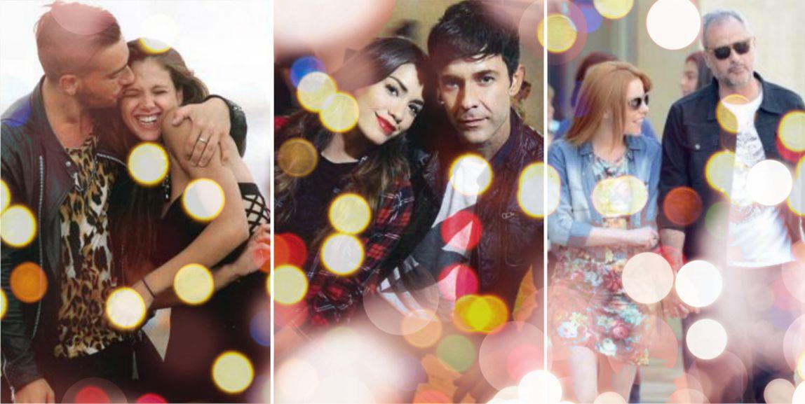 Navidad con amor: las parejas de famosos más románticas de 2015
