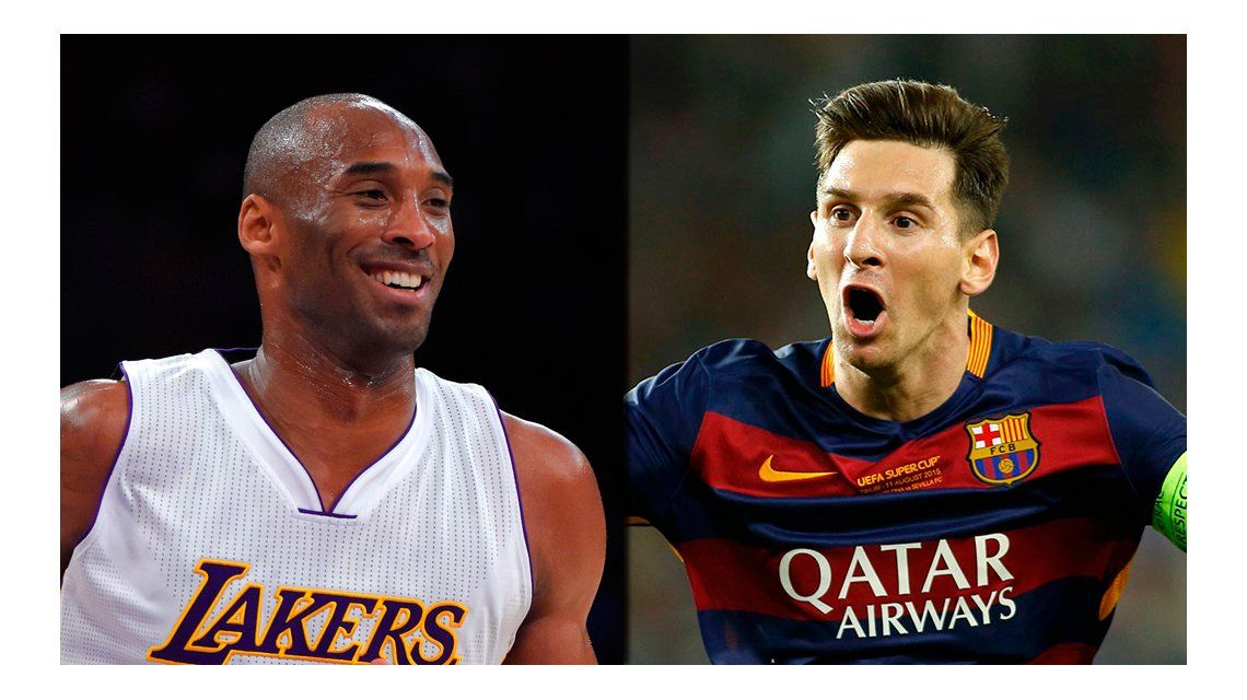 La divertida anécdota de Kobe Bryant sobre cómo conoció a Lionel Messi