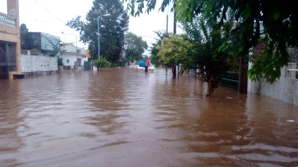 El Gobierno creó el Comité de Crisis por las inundaciones en el Litoral